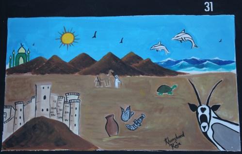 mural by Khursheed Raja