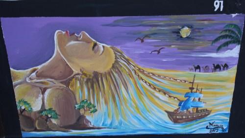 mural by Marwa Al Hinai