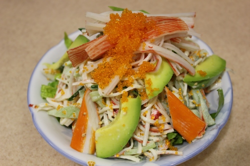 crab kani salad