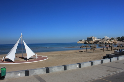 beautiful qurum beach