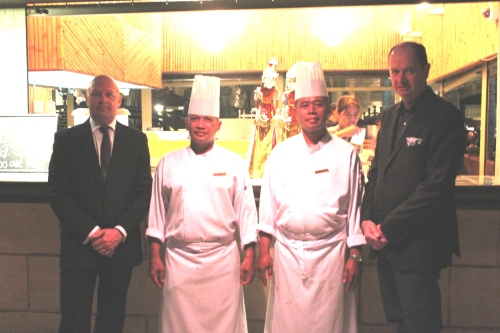 chefs and crew