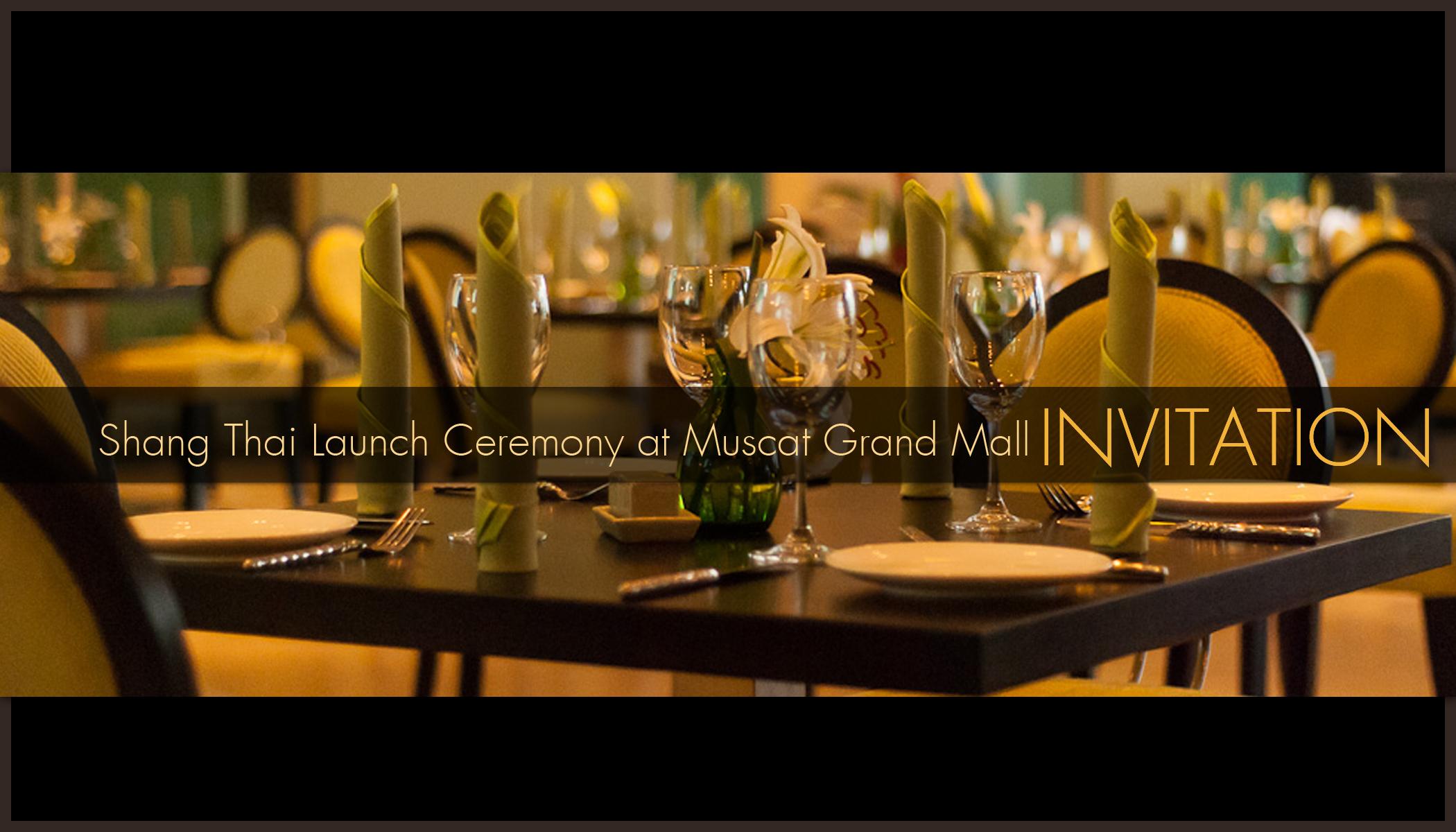 thai cuisine Muscat | Andy in Oman