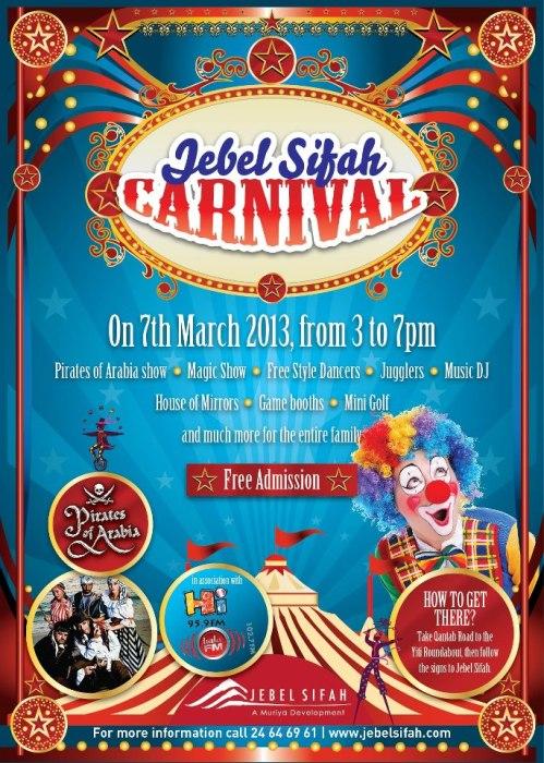 Jebel Sifah Carnival