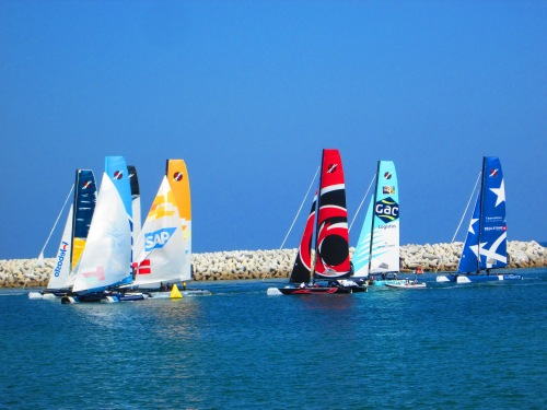 let the extreme sailing begin