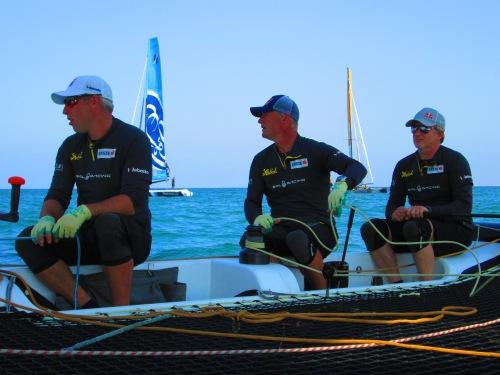 experienced sailors