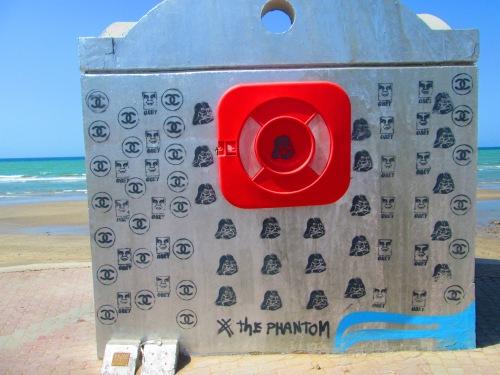 the phantom graffiti