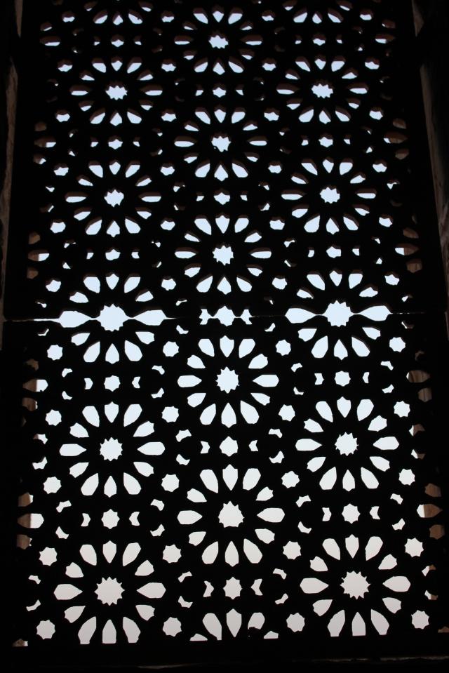 pattern in stairway