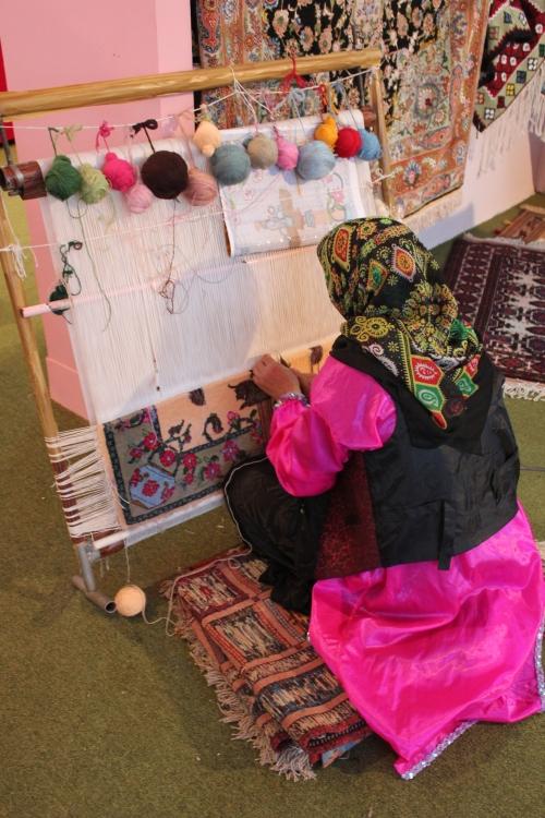 making a persian carpet