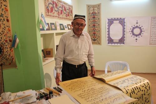 uzbek man