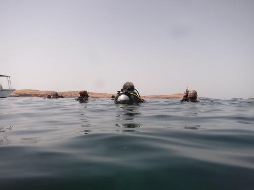 ready to submerge