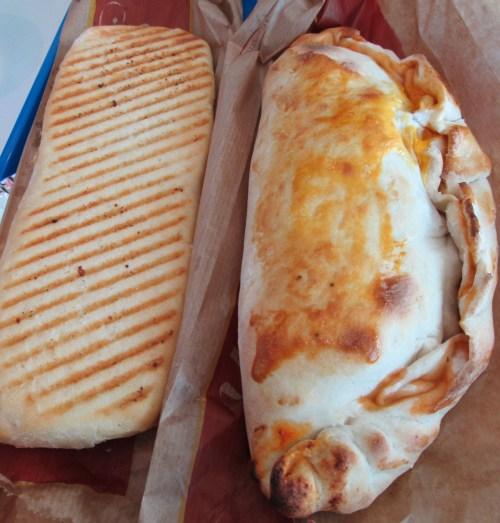 panini and calzone