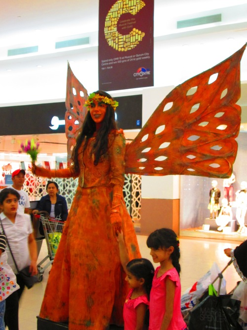 fairy in mall