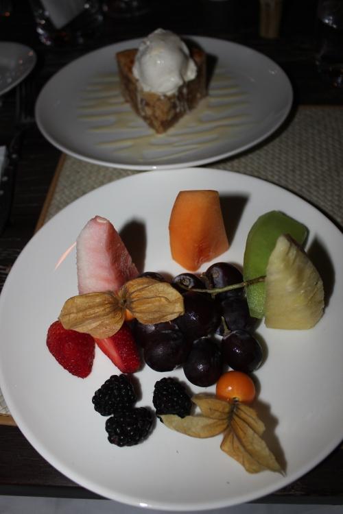 2 dessert options