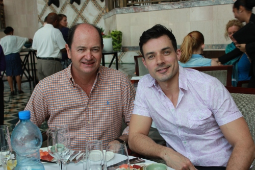 Garry Friend and Matthew vanKan