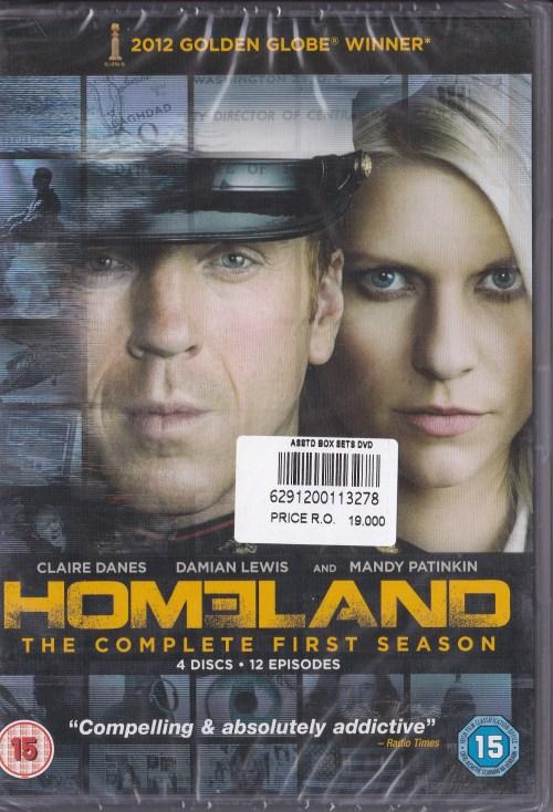 Homeland cover