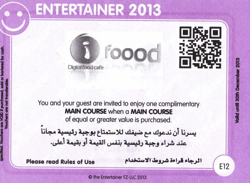 i foood entertainer coupon