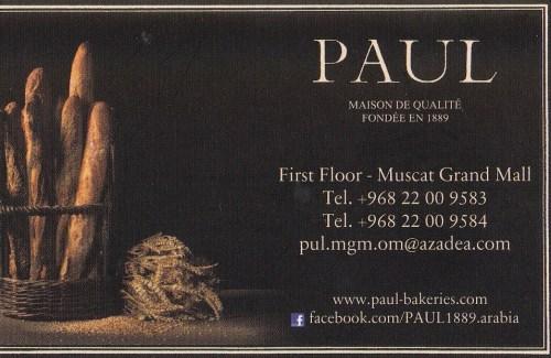 PAUL contact info