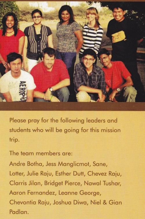 members of trip