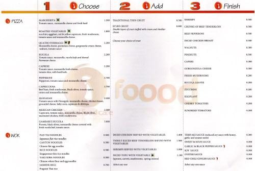 page 4 of menu