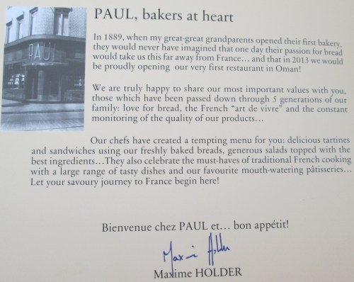 a little more about PAUL