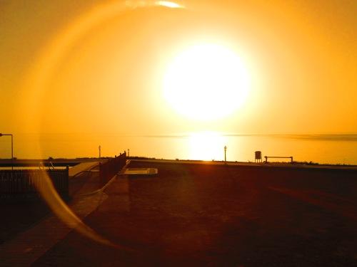 sunrise at wadi shab resort