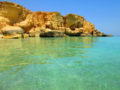 fantastic beach at WadiShab