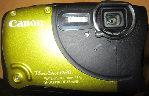 Canon D20