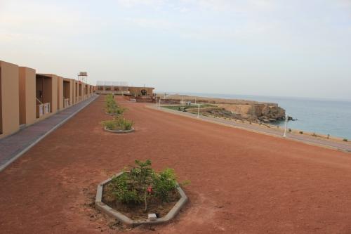 resort facing sea