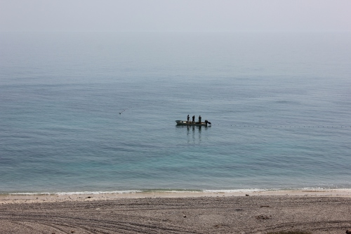 fishermen at wadi shab