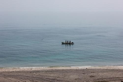 fishermen at wadi shab