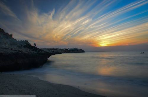 Amazing Sunset Shot from PDO Beach by Badar Al Lawati!