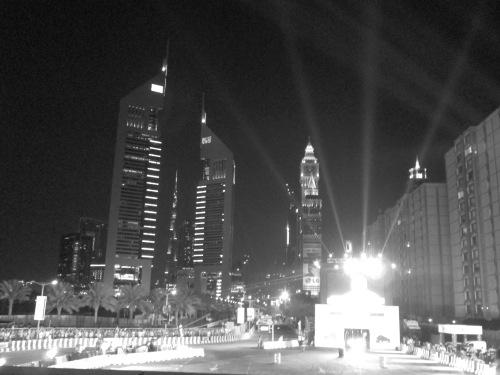 Dubai black and white nov 8 2013