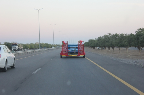 Ali Al Belushis car going home