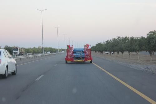 Ali Al Belushis car going home