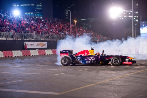 Formula One Car - Action