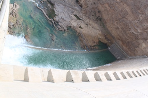 other side of wadi daqa dam