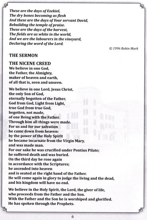 program page 6