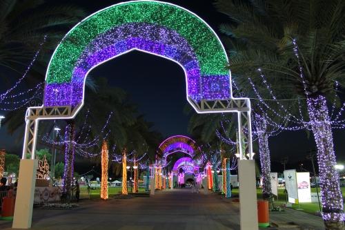 muscat festival lights