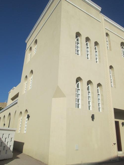 corner of church