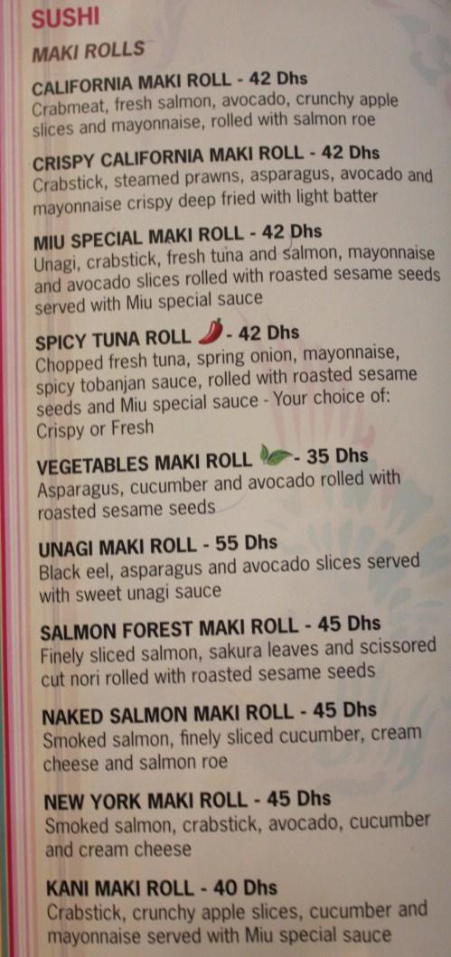 miu shanghai sushi