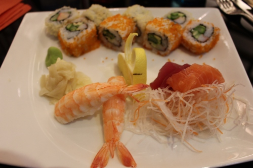 sushi platter for real