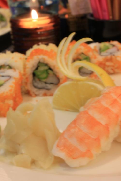 artistic attempt sushi platter