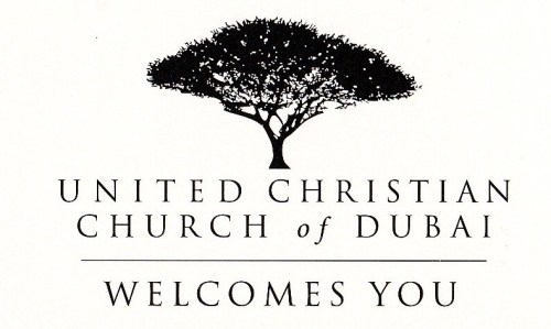 welcome and church logo