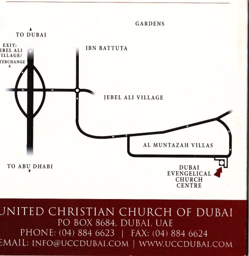 directions to church