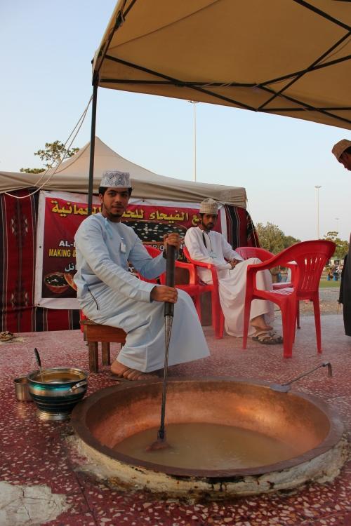 making halwa