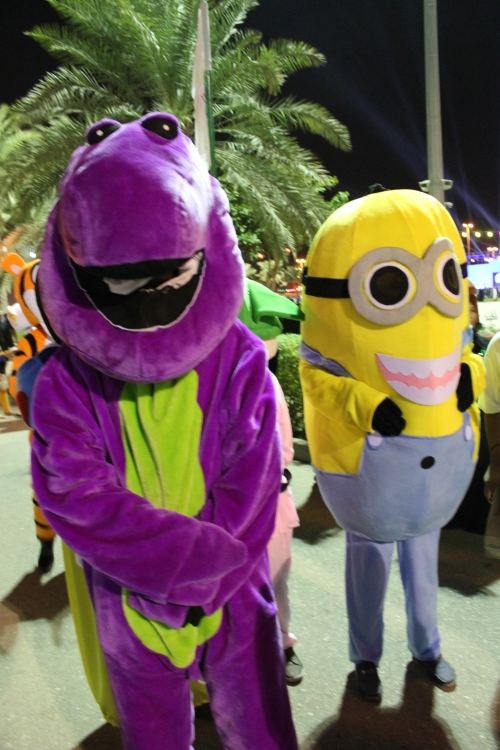 barney and minion