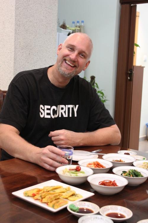 Geoff at Korean Choice