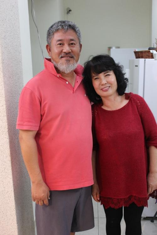 Mr Yeom and Mrs. Kim