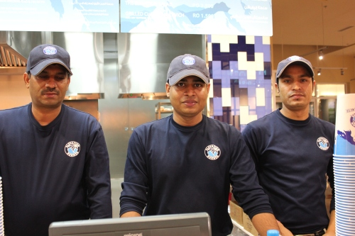 employees at elevation