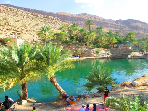 picnic fun at wadi bini khaled